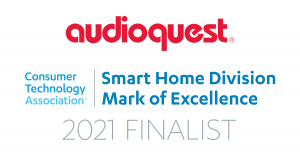 Logo - AudioQuest wins Consumer Electronics Association Mark of Excellence Finalist 2020 designation